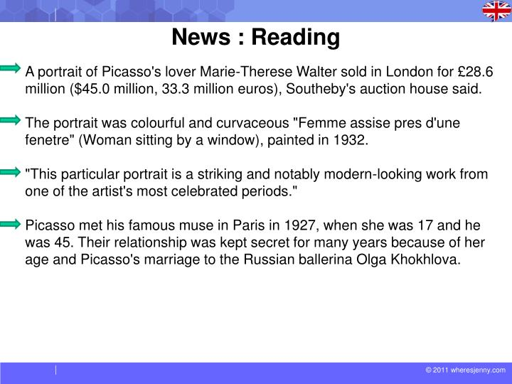 News : Reading