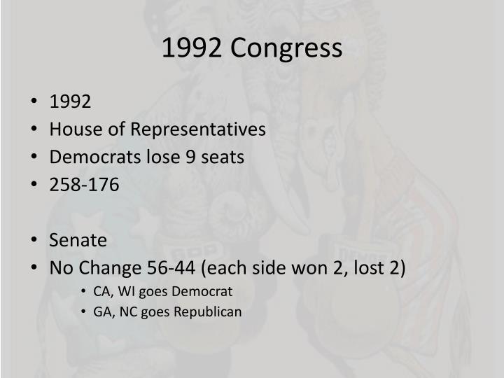 1992 Congress