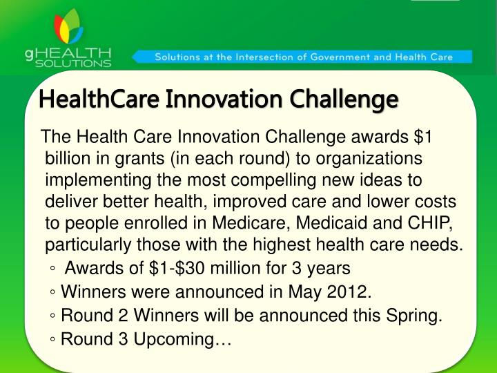 HealthCare Innovation Challenge