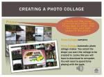 creating a photo collage