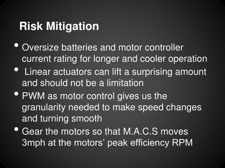 Risk Mitigation