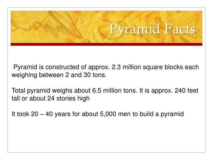 Pyramid Facts