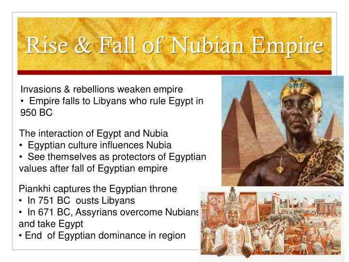 Rise & Fall of Nubian Empire