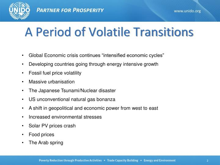 A Period of Volatile Transitions