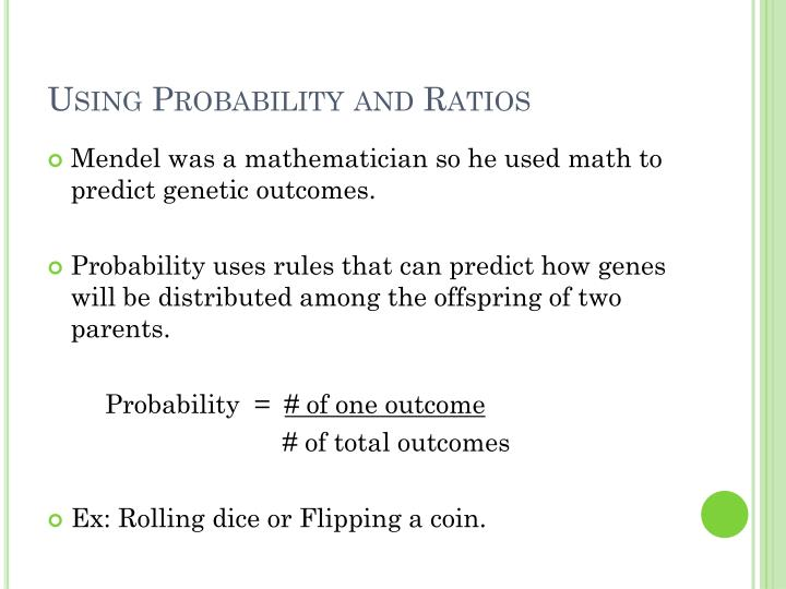 Using Probability and Ratios