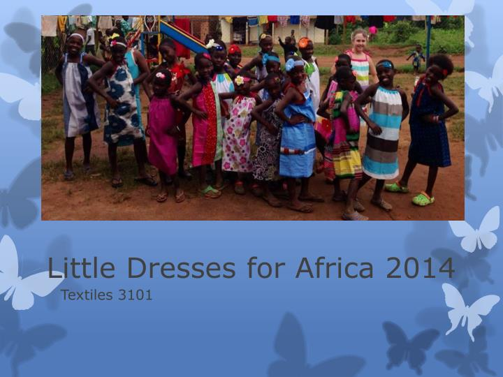 Little dresses for africa 2014