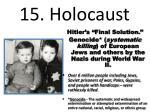 15 holocaust