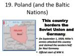 19 poland and the baltic nations
