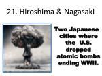 21 hiroshima nagasaki