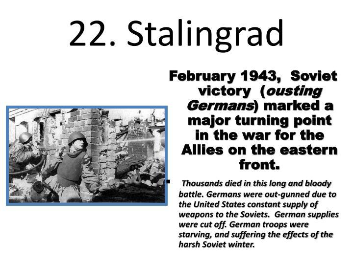 22. Stalingrad