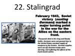22 stalingrad
