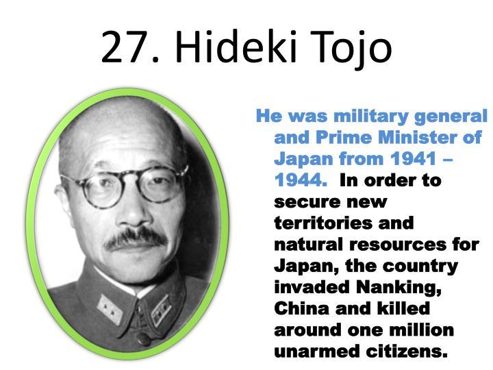 27. Hideki