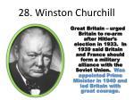28 winston churchill
