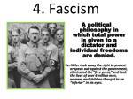 4 fascism