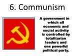 6 communism