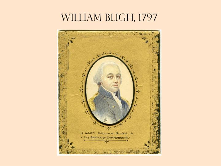 William Bligh, 1797