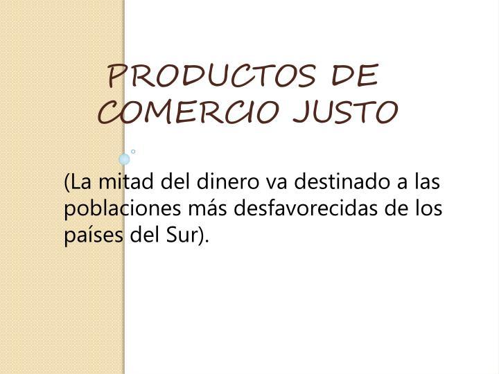 PRODUCTOS DE