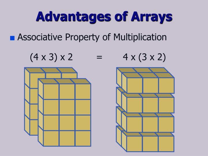 Advantages of Arrays