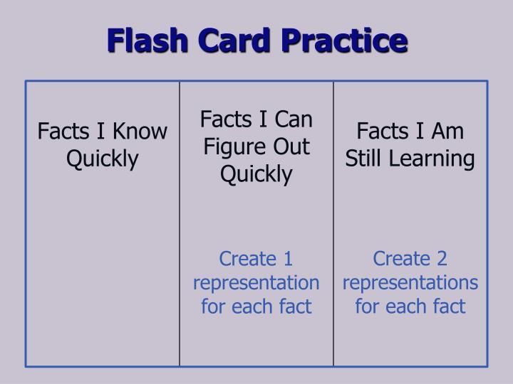 Flash Card Practice