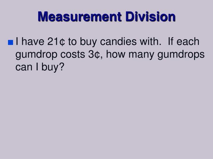 Measurement Division