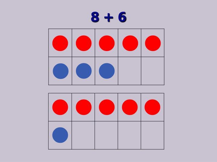 8 + 6