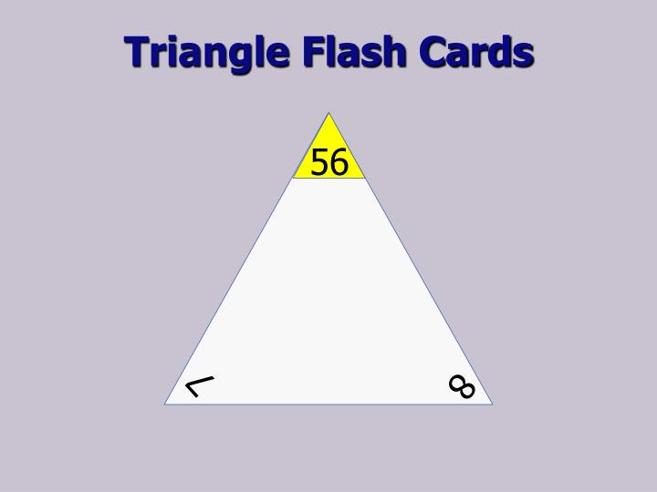 Triangle Flash Cards