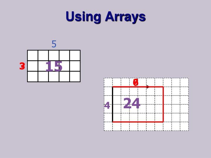 Using Arrays