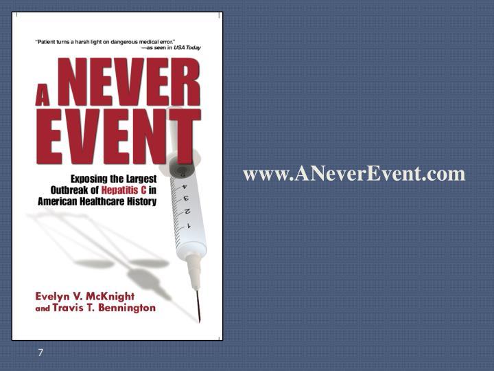 www.ANeverEvent.com