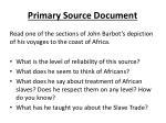 primary source document