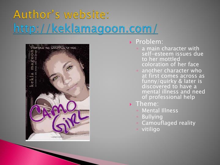 Author's website: