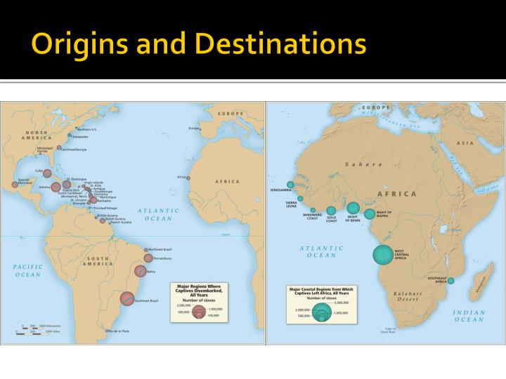 Origins and Destinations