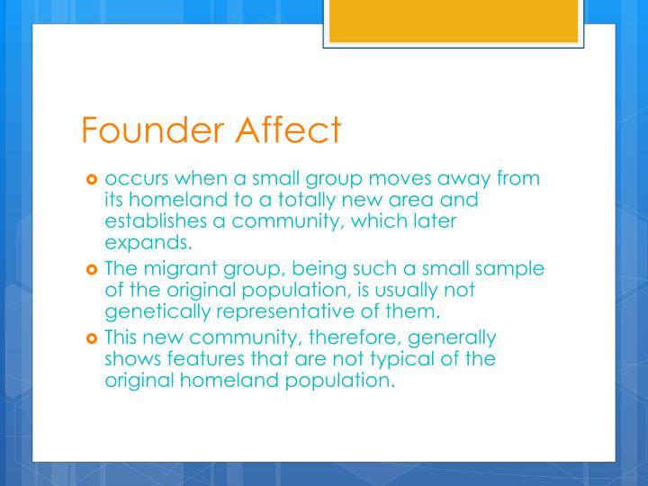 Founder Affect