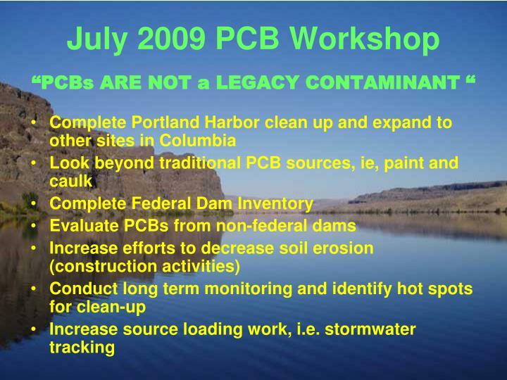 July 2009 PCB Workshop