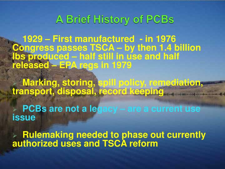 A Brief History of PCBs