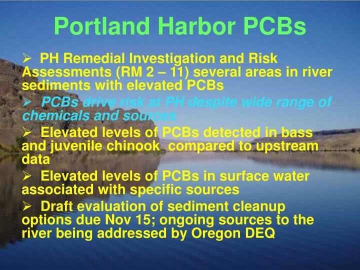 Portland Harbor PCBs