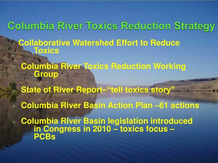 Columbia River Toxics Reduction Strategy
