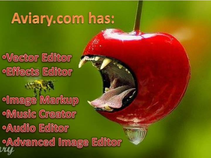 Aviary.com has: