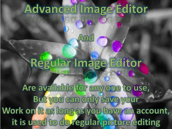 Advanced Image