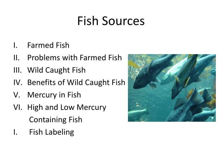 Fish Sources