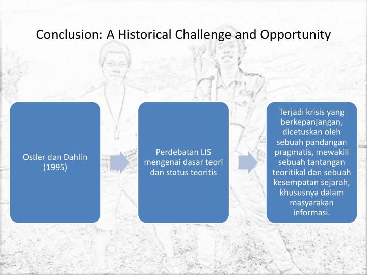 Conclusion: A Historical Challenge and Opportunity