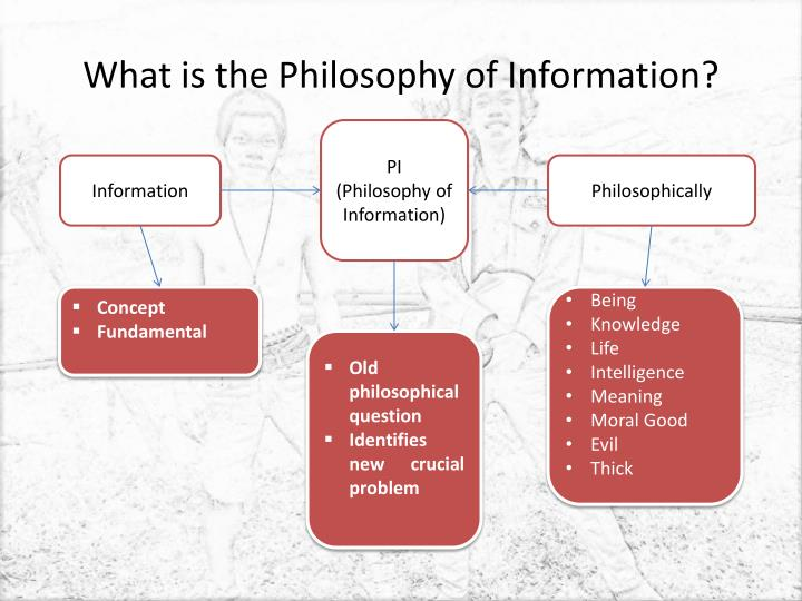 What is the Philosophy of Information?