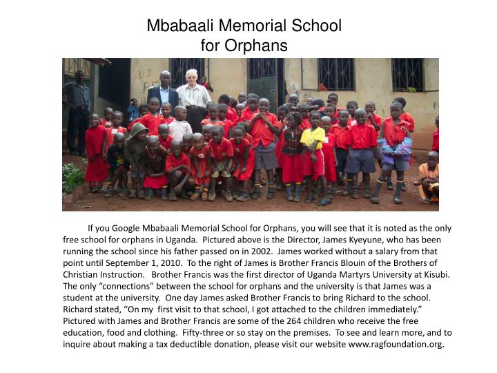Mbabaali Memorial School