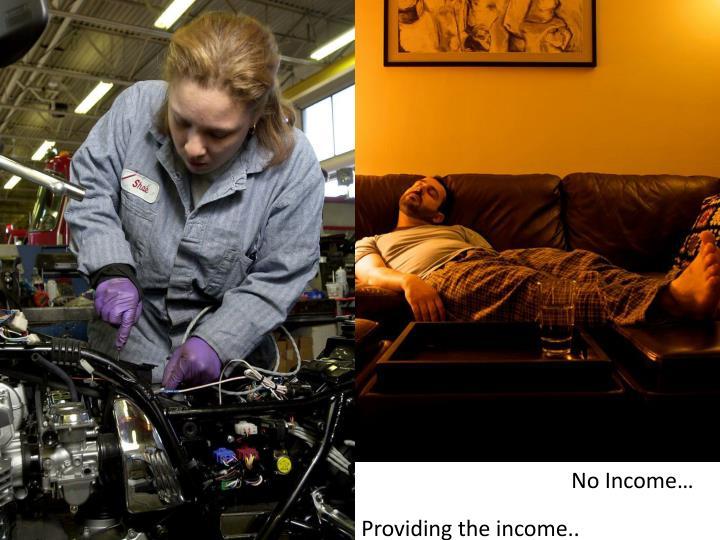 No Income…