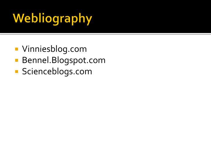 Webliography