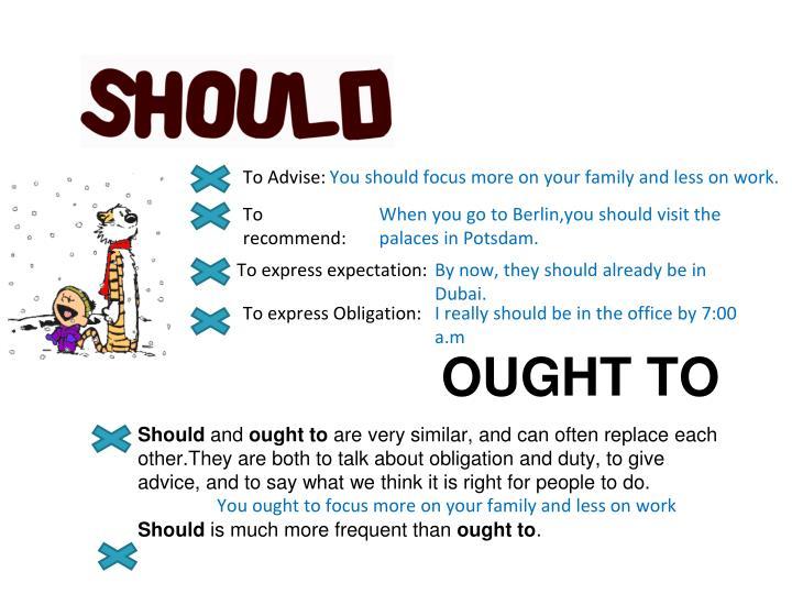 To Advise: