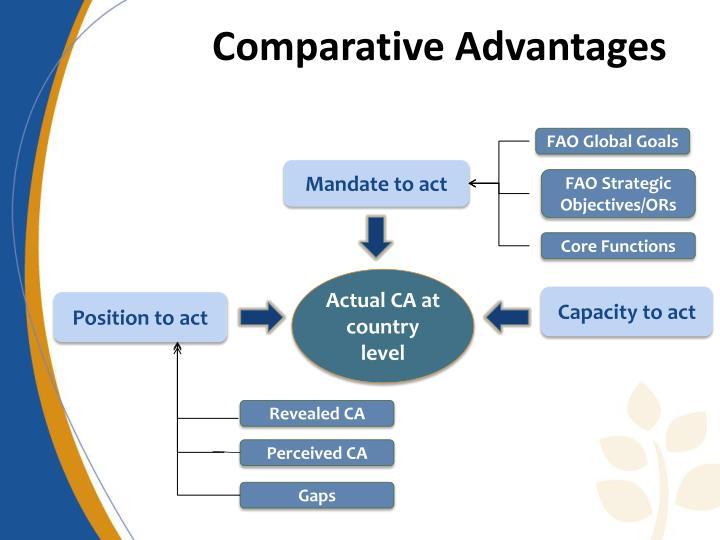 Comparative Advantages