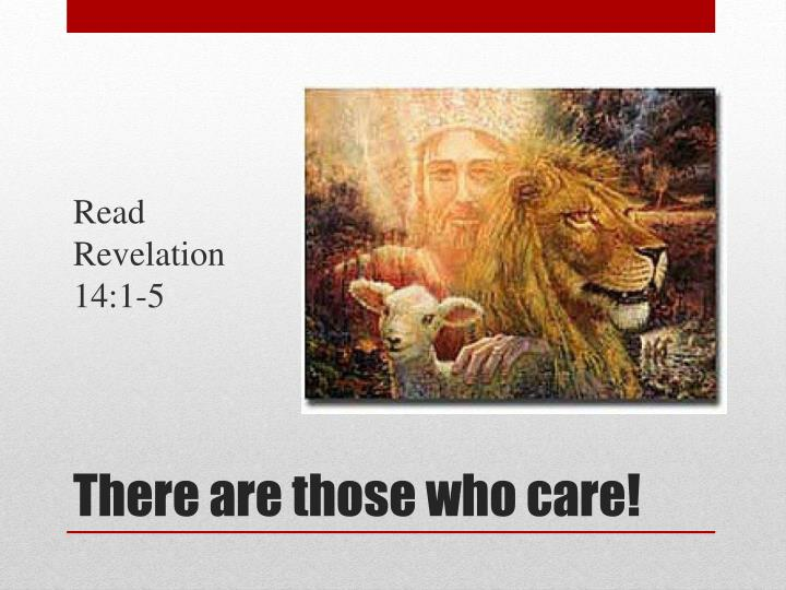 Read Revelation 14:1-5