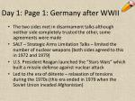 day 1 page 1 germany after wwii7