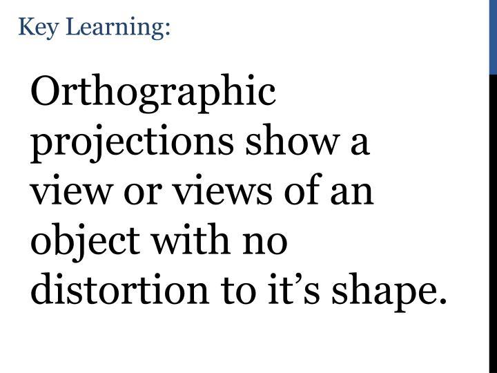 Key Learning: