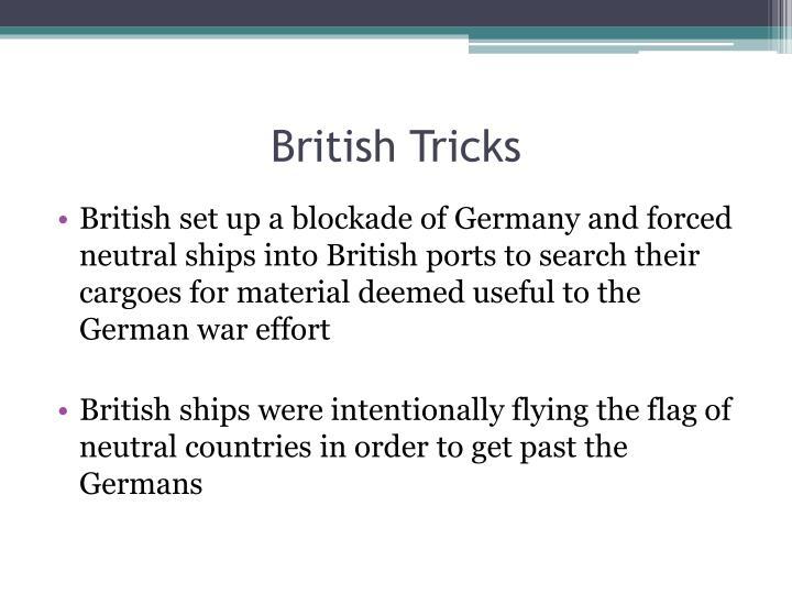 British Tricks